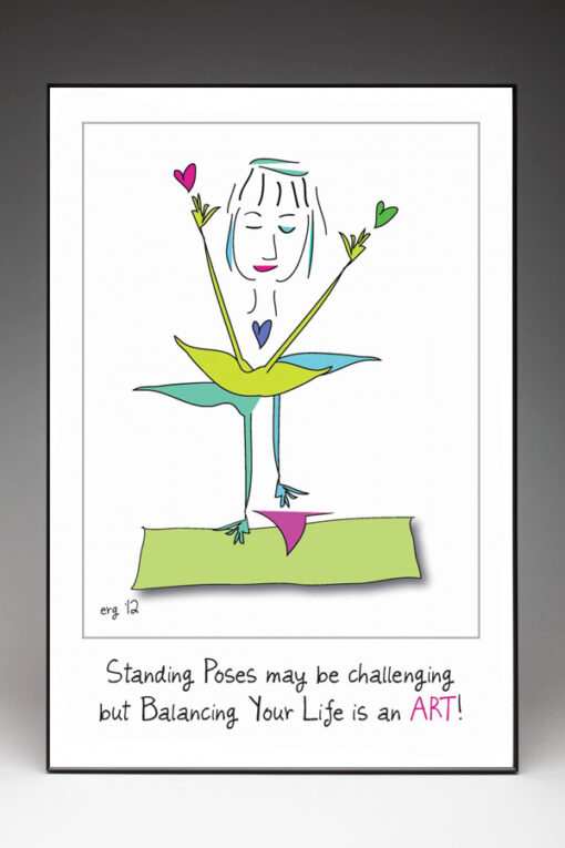Wendy Poster by Curmudgeon Cards