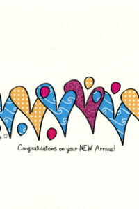New Baby card by Curmudgeon Cards