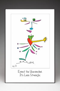 Quilly - Expect the Unexpected Poster