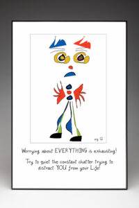Worried Walt Poster by Curmudgeon Cards