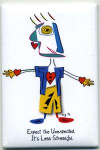 Peakasso - King of Hearts Magnet