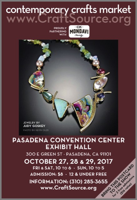 Contemporary Crafts Market – New Booth #B207