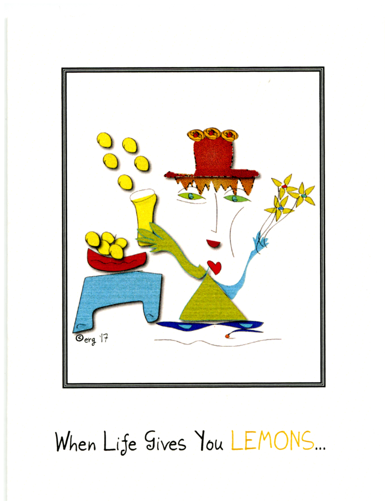 Fiona When Life Gives You Lemons Curmudgeon Cards